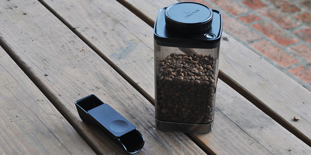 Turn-N-Seal Food Vacuum Container with 2-in-1 Brew Scoop, now on sale for $22.99 when you use the coupon code COFFELOVE10 at checkout