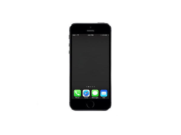 Refurbished iPhone 5s 16 GB Space Gray - Good Condition - Product Image