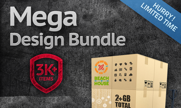 The Mega Design Bundle - Product Image