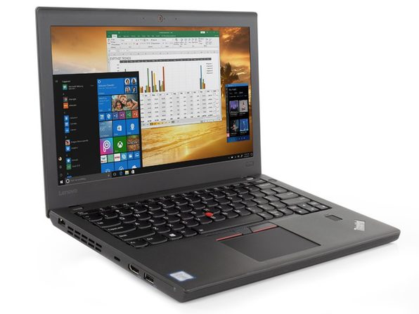 "Lenovo Thinkpad x270 12"" Laptop, 2.4GHz Intel i5 Dual Core Gen 6, 8GB RAM, 256GB SSD, Windows 10 Professional 64 Bit (Refurbished Grade B)"
