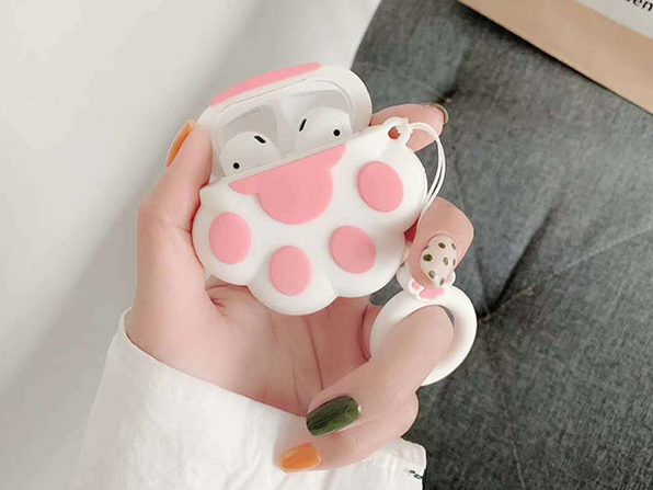 Animal Silicone Earphone Case for Apple AirPods (Paw)