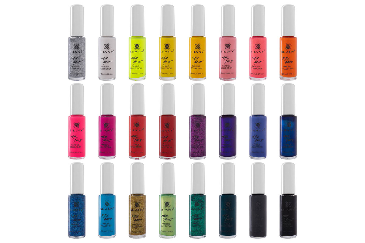 SHANY Nail Art Set (24 Famous Colors Nail Art Polish, Nail Art Decoration), now on sale for $29.99