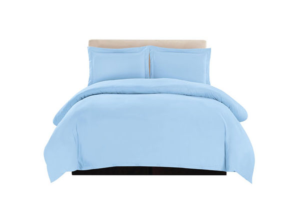 Lux Decor Collection 3-Piece Duvet Set Blue - Queen - Product Image