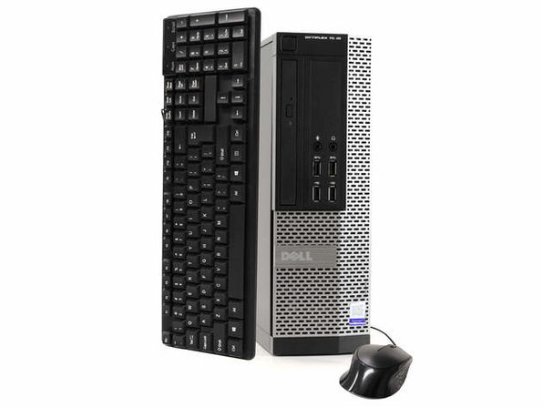 Dell OptiPlex 7020 Desktop PC, 3.2 GHz Intel i5 Quad Core Gen 4, 16GB DDR3 RAM, 1TB SATA HD, Windows 10 Professional 64 Bit (Refurbished Grade B)