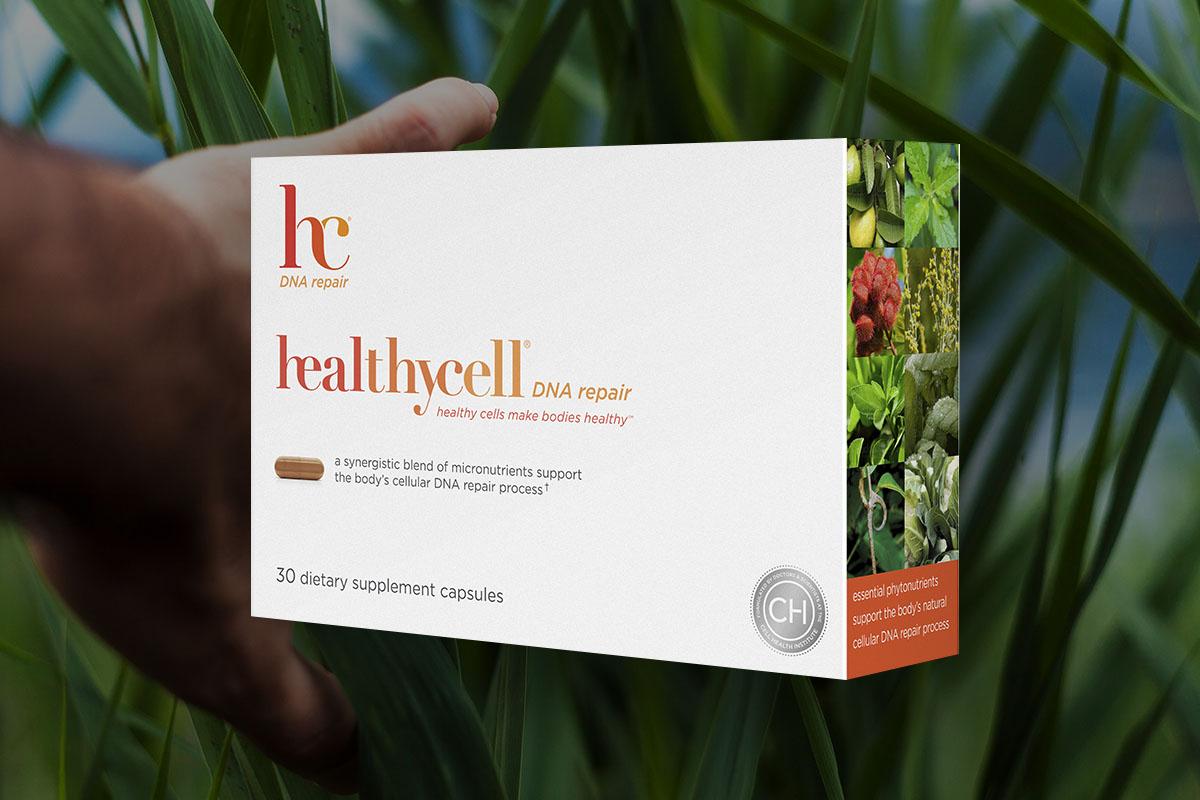 A box of healthycell DNA repair