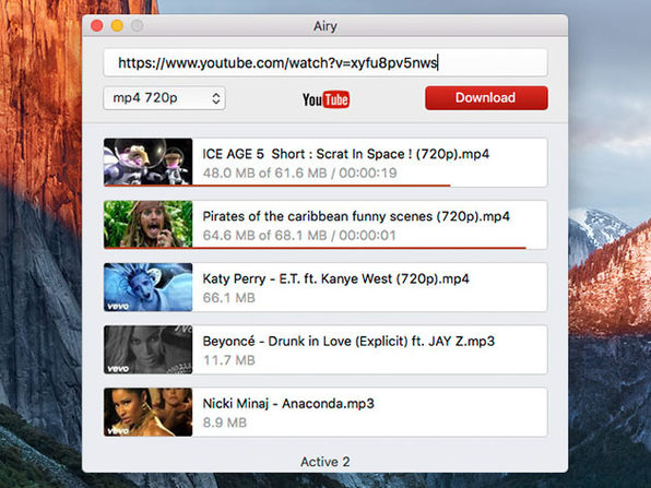 Airy YouTube Video & MP3 Downloader for Windows: Family Pack License