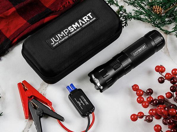 JumpSmart 37,000mWh Portable Vehicle Jump Starter Kit