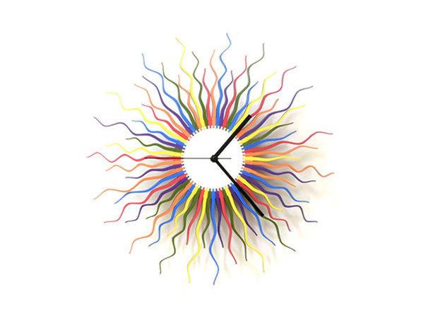 Medusa Wood Wall Clock