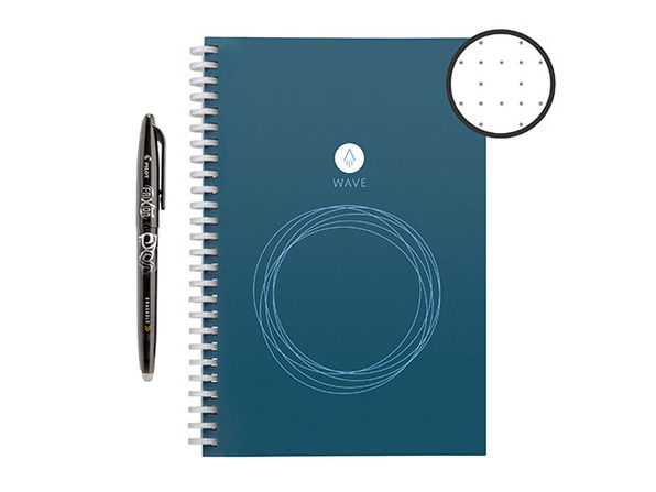 Rocketbook Wave Executive Smart Notebook with Pen Station