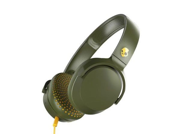 Skullcandy Riff On-Ear Durable Headphone (Olive)