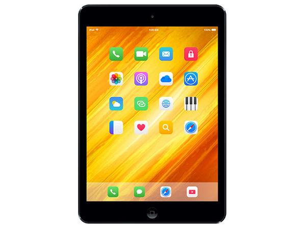 iPad mini 1st Gen. 16GB, Wi-Fi, 7.9in - Black & Slate (MD528LL/A) Fair - Product Image