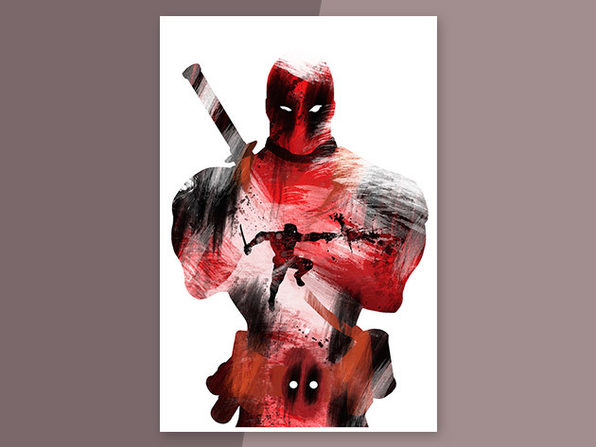 Deadpool Mercenary Poster