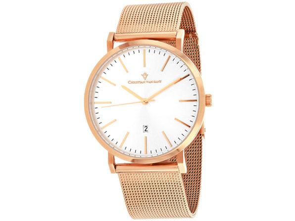 Christian Van Sant Men's Paradigm Silver Dial Watch - CV4322 - Product Image