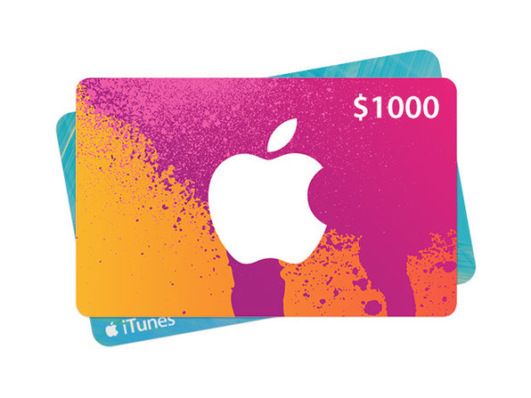 The $1000 iTunes Gift Card Giveaway | StackSocial