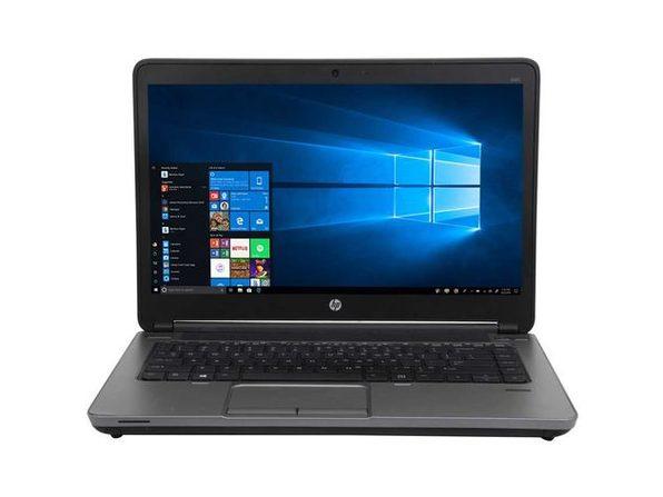 "HP ProBook 640G1 14"" Laptop, 2.9GHz Intel i7 Dual Core Gen 4, 8GB RAM, 500GB SATA HD, Windows 10 Home 64 Bit (Refurbished Grade B)"