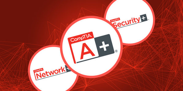 CompTIA 3-in-1 IT Certification Bundle - Product Image