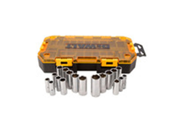 "DEWALT DWMT73812 3/8"" Drive Deep Socket Set - Product Image"