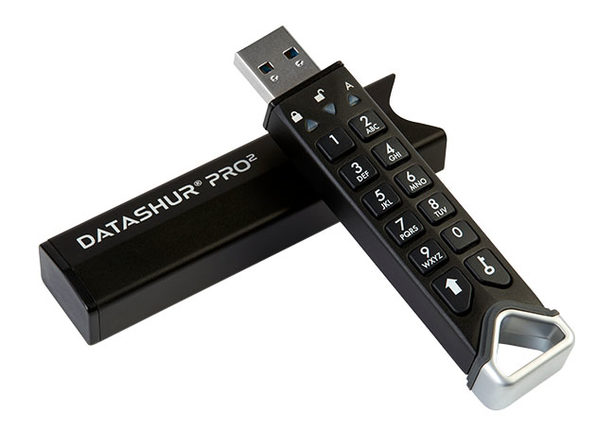 datAshur® PRO² 256-bit Encrypted USB 3.2 Flash Drive