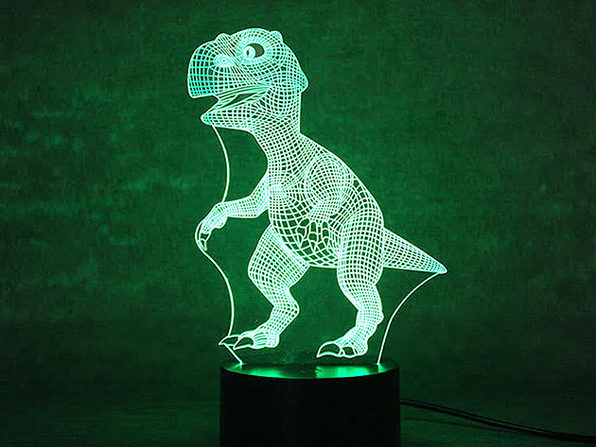 3D Dinosaur Light