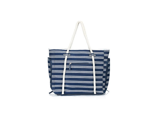 DEZZIO Multi-Purpose USB Beach Bag (Mariner)