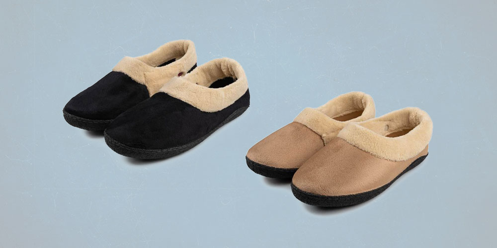 These comfy slippers take warm and cozy to the next level- with heated bottoms for maximum coziness!
