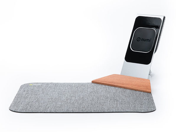 Numi™ Power Mat Plus: Wireless Charging Stand & Mouse Pad