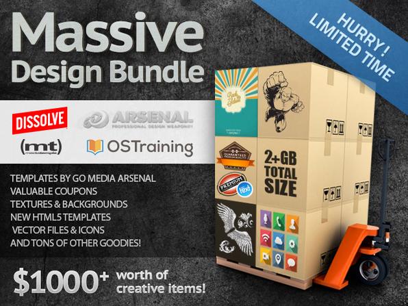 The Massive Design Bundle - Product Image