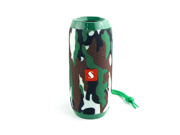 Music Manager Bluetooth Speaker & Subwoofer (Camo)