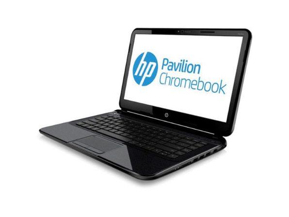 "HP Chromebook D1A51UT 14"" Laptop, 1.6GHz Intel Celeron, 4GB RAM, 16GB SSD, Chrome (Renewed)"