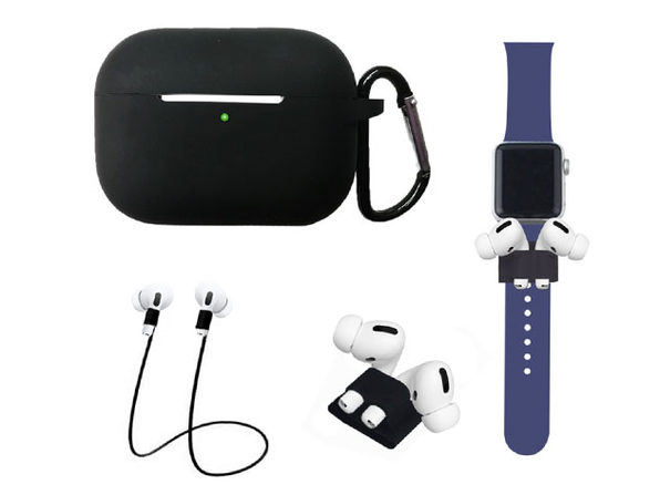 Airpods Pro Accessory Bundle Black - Product Image