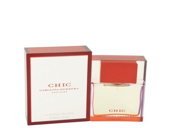 3 Pack Chic by Carolina Herrera Eau De Parfum Spray 1.7 oz for Women