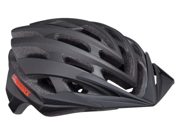 Diamondback Podium Bike Helmet Mountain, Medium - Black (New)