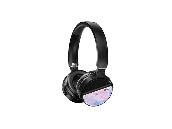 LUNATUNE Wireless Headphones - Purple Paint - Product Image