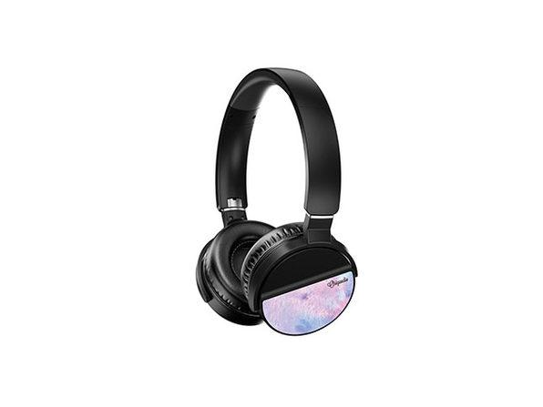 LUNATUNE Wireless Headphones - Purple Paint - Product Image