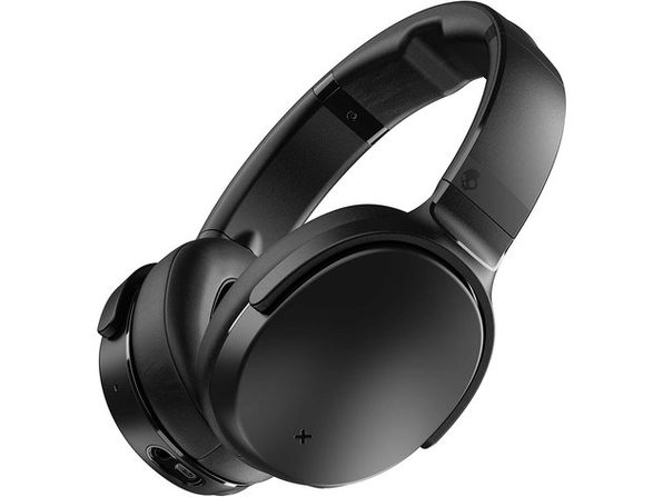 Skullcandy Venue Wireless Noise Cancelling over the Ear Headphones with Built in Tile Tracker, Black (New Open Box)