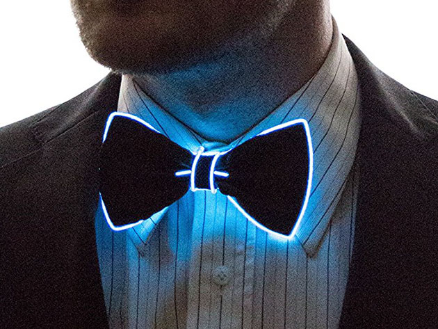 Light Up Bow Tie Blue Stacksocial