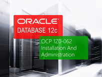 Oracle 12c OCP 1Z0-062: Installation & Administration - Product Image