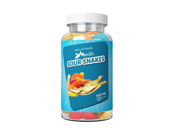 Medix CBD Sour Snakes (300MG)