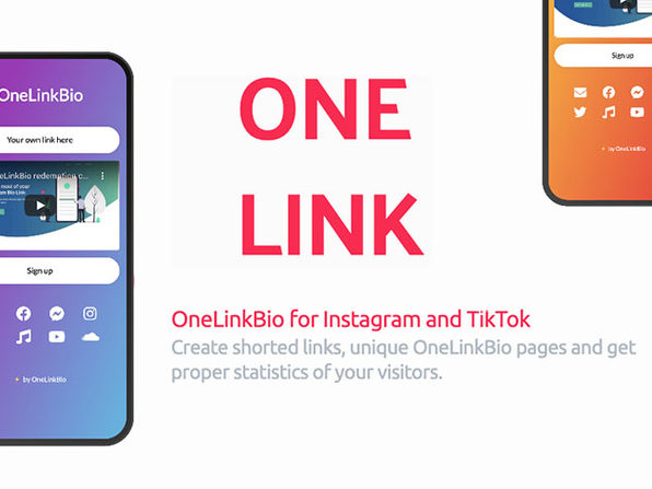 OneLinkBio Pro: 1-Yr Subscription