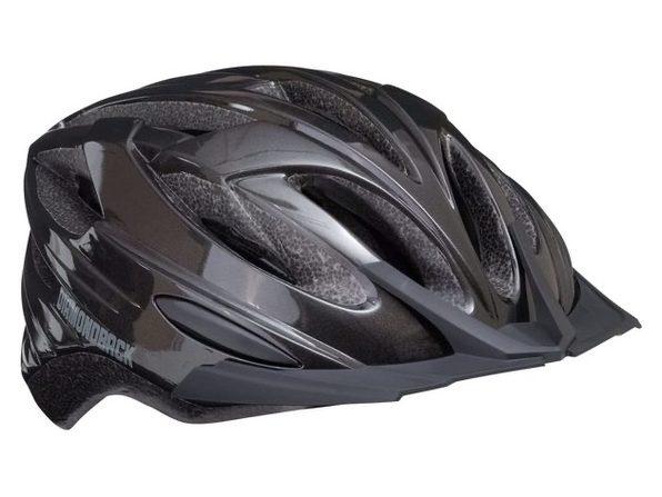 Diamondback Recoil Mountain Bike Helmet Fits heads 52-56cm, Large - Gloss Black (New)