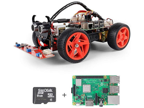 SunFounder PiCar-V Kit V2.0 for Raspberry Pi 4