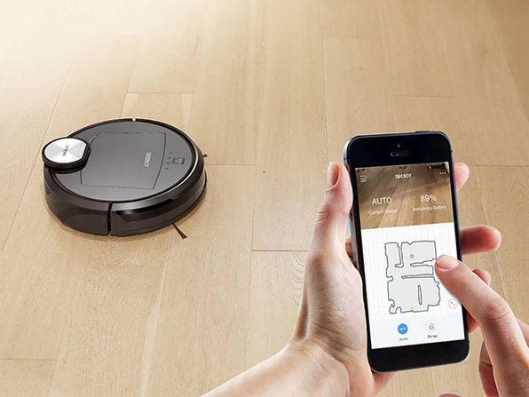 ECOVACS Deebot Robot Vacuum Cleaner & Canister Vacuum Station
