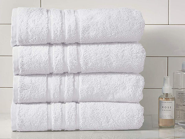 Turkish Cotton 700 GSM Bath Towels: Set of 4