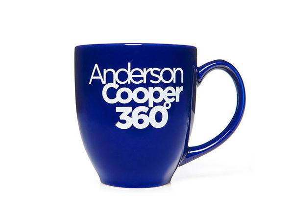 Anderson Cooper Mug Navy - Product Image