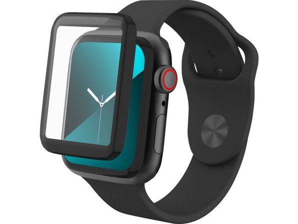Zagg Invisible Shield Hybird Glass Fusion Screen Protector for Apple Watch Series 5/4, 44 Milimeters (New Open Box)