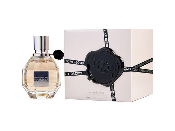 Flowerbomb By Viktor & Rolf Eau De Parfum Spray 1.7 Oz For Women (Package Of 4) - Product Image