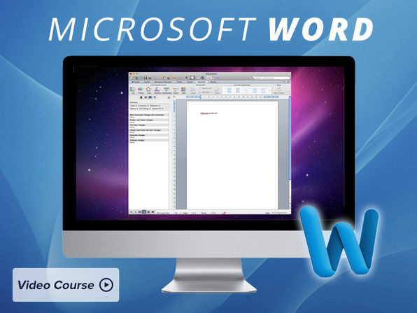 Microsoft Word 2011 Course - Product Image