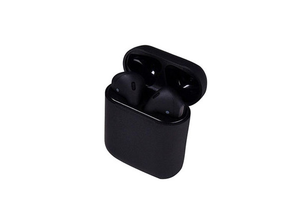 Airybuds i12 Bluetooth Wireless Earbuds (Black)