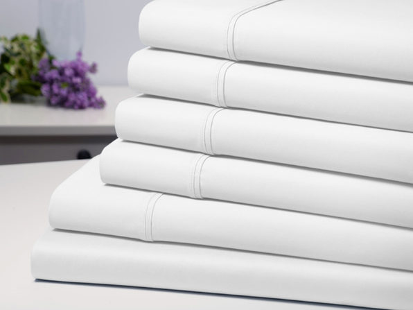 Bamboo Comfort 6 Piece Luxury Sheet Set - White (King) - Product Image