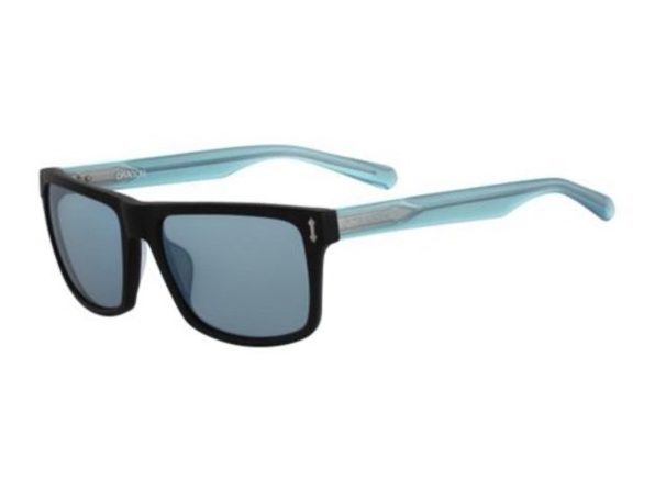 Dragon Alliance 31089 Adult Blindside Sunglasses - Matte Black Blue - Black